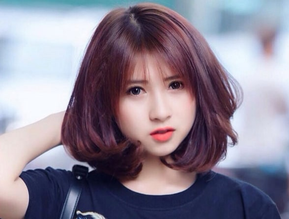 tóc ngắn dày